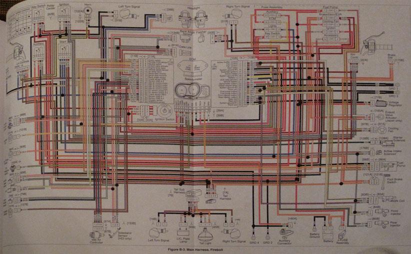Schema elettrico buell